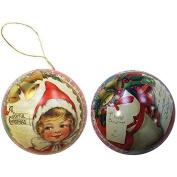 The English Soap Company Festive Tin Bauble - Elf & Bells 90g