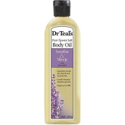 2 Pack of Dr. Teal's Soothe & Sleep with Lavender Body and Bath Oil, 260ml ea