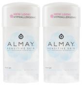 Almay Sensitive skin Clear Gel, Anti-Perspirant & Deodorant, Fragrance Free, 70ml Stick