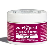 Floral Cream Deodorant for Women