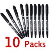 Winnerbeen 10 Pcs Tattoo Pen Tattoo Skin Marker Marking Scribe Pen Fine - Tattoo Pen