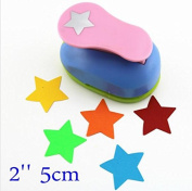 1 Piece Star Shaped hole punches 5.1cm craft punch paper cutter scrapbook child craft tool Embosser kid by Fascola
