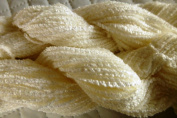 White Soft Worsted / Dk / Sports Weight Acrylic Chenille Yarn