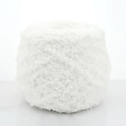 100g Powder Puff Hot  .   Wholesale Polyester 3ply Crochet Skein Knitting Wool Yarn Balls Cashmere No1