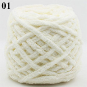 Colourful Dye Scarf Hand-knitted Yarn For Hand knitting Soft Milk Cotton Yarn Thick Wool Yarn : NO 01