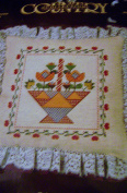 Paragon Patchwork Flowers Counted Cross Stitch Pillow Kit
