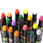 Bbshop 36 Colours Non-toxic Washable Silky Crayon Painting Stick Easy Clean Lipstick Rotating Crayons & Markers