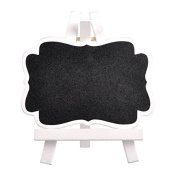 Lavender Mini Rectangle Chalkboards Place Cards with Easel set of 10