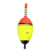 ACE Seller 5pcs Size 5/10/15/20/30/50g Luminous Fishing Float Light Stick EVA Glowing Night Fishing Float Foam Float Tube Buoy