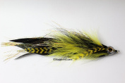Haggerty Jointed Muskie Fishing Lures -Pike Fly 18cm - 20cm long flies Fish Mask Musky pickerel trolling 5/0 Whiting Grizzly