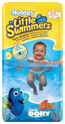 Huggies Little Swimmers Nappies - Size 2-3, 2 x Packs of 12
