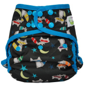 Sweet Pea One Size Nappy Cover, New Raccoon