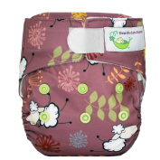 Sweet Pea Newborn All-In-One Nappy, New Sheep