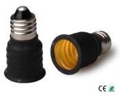 E-Simpo 10-pack E11 to E14 Adapter,E11 to E14 Lamp Base Converter,Copper, Z1099