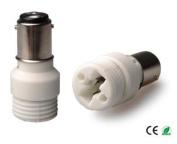 E-Simpo 6-pack BA15D to G9 Adapter,BA15D to G9 Lamp Base Converter,Ceramic, Z1090