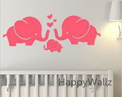 Kids Pink Elephant safari Wall Stickers Wall Decals for Kids Baby Boy's Rooms Nursery