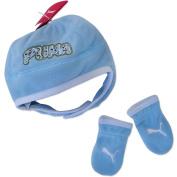 Puma Mini Cats Fleece Set Baby Toddler Winter Set Blue
