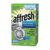 Affresh Value 6-Pack Washer Cleaner Tablets, Stays Clean and Functioning
