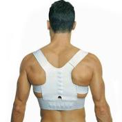 ROSENICE Unisex Magnetic Posture Support Corrector Back Belt Band Pain Feel Young Belt Brace Shoulder