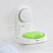 Garbath Suction Cup Soap Dish, White, 261003