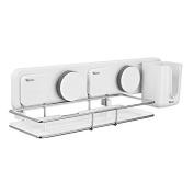 Garbath Suction Cup Bathroom Shower Caddy Storage Organiser, Easy to Instal, 263003
