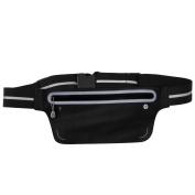 Waterproof Ultra Slim Running Belt Outdoor Sports Waist Pack Adjustable Waistband Fit Smartphone iPhone Cycling Hiking Walking