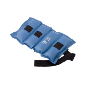 The Deluxe Cuff Ankle and Wrist Weight - 9.1kg - Blue