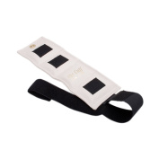 The Deluxe Cuff_ Ankle and Wrist Weight - 0.9kg. - White