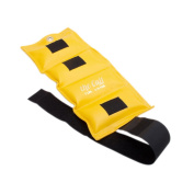 The Deluxe Cuff Ankle and Wrist Weight - 3.2kg - Lemon