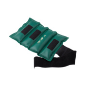The Deluxe Cuff Ankle and Wrist Weight - 11kg - Green