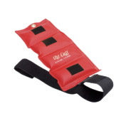 The Deluxe Cuff Ankle and Wrist Weight - 1.1kg - Red