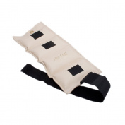 The Deluxe Cuff Ankle and Wrist Weight - 4.1kg - Parchment