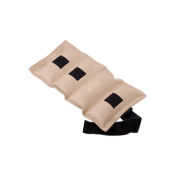 The Deluxe Cuff Ankle and Wrist Weight - 6.8kg - Tan