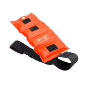 The Deluxe Cuff Ankle and Wrist Weight - 0.3kg - Orange