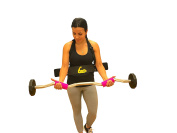 Cannon Curl + Fit Grips 1.75 - Arm Blaster Support Plus Thick/Fat Bar Training
