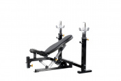 Powertec Fitness Workbench Olympic Bench, Black