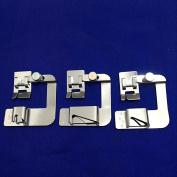 YEQIN Snap On Adjustable Rolled Hemmer Foot Choose 2.5cm ,1.3cm or 1.9cm For Singer Brother Babylock Juki Janome