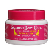 Victoria Soaps of Sweden Swedish Body Care Shea Butter, Honey and Lingonberry, 8.5 Fluid Ounce