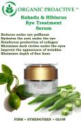 ORGANIC PROACTIVE, PROFESSIONAL GRADE, Kakadu & Hibiscus Eye Treatment Serum (FIRM + STRENGTHEN + GLOW - All/Oily/ Combination Skin Types) 15ml