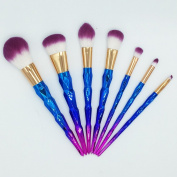 Shiny Muse 7pcs Makeup Brushes Set for Brow Eyeshadow Blush Powder Eyeliner