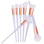 Alonea New 7PCS Make Up Foundation Eyebrow Eyeliner Blush Cosmetic Concealer Brushes