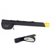 TFO Temple Fork Fleece Lined Fly Fishing Rod and Reel Carrying Case With Handles