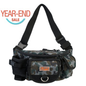 [Year-End Sales] Piscifun Fishing Bag Portable Outdoor Fishing Tackle Bags Multiple Waist Bag Fanny Pack