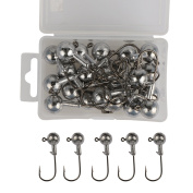 Goture Fishing Hooks Saltwater Set Kit With Fishing Tackle Box Fish Jig Heads