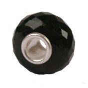 Authentic Novobeads Gemstones 7216 Faceted Black Onyx