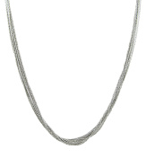 Officina Bernardi Silver 10-Row Necklace