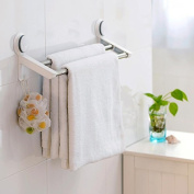 Garbath Suction Cup Double Towel Bar, Easy to Instal, 265002