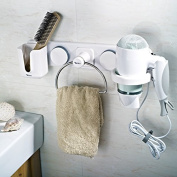 Garbath Suction Cup Multifunctional Towel Ring, Easy to Instal, 263002
