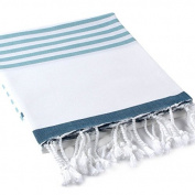 Buldan's Pestemal Turkish Bath Towels 37x70 100% Cotton Ocean Collection