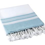 Buldan's Pestemal Turkish Bath Towels 50% Cotton - 50% Tencel - Lykia Collection